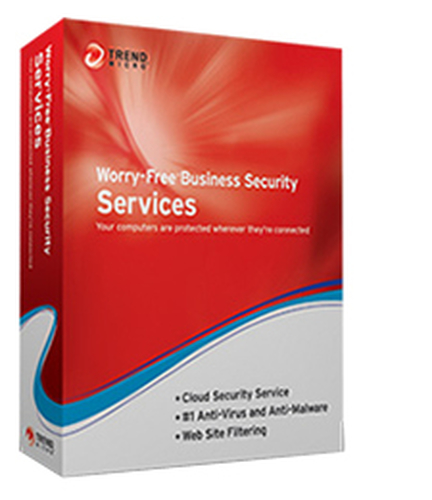 TREND MICRO WORRY-FREE BUSINESS SECURITY SERVICES V5 MULTILAN