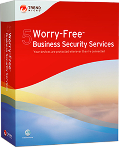 TREND MICRO WORRY FREE BUSINESS SECURITY SERVICES V5 MULTI LANGUAGE 11-25 USER 12 MONTH RINNOVO