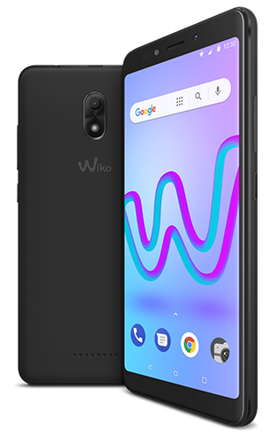 WIKO SMARTPHONE JERRY 3 DISPLAY IMMERSIVO 18:9, ACCESSIBILE E COMPATTO, MEMORIA INTERNA 16 GB, FOTOCAMERA 5+5MP COLORE ANTRACITE