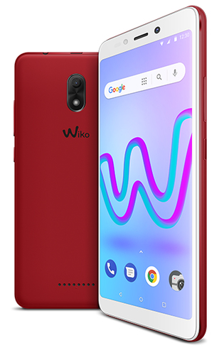 WIKO SMARTPHONE JERRY 3 DISPLAY IMMERSIVO 18:9, ACCESSIBILE E COMPATTO, MEMORIA INTERNA 16 GB, FOTOCAMERA 5+5MP COLORE ROSSO CILIEGIA