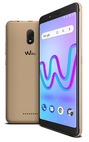 WIKO SMARTPHONE JERRY 3 DISPLAY IMMERSIVO 18:9, ACCESSIBILE E COMPATTO, MEMORIA INTERNA 16 GB, FOTOCAMERA 5+5MP COLORE GOLD