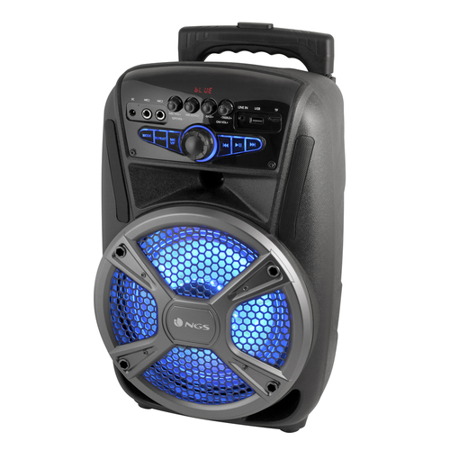 NGS CASSA ACUSTICA PORTATILE 35W LED USB/SD/BLUETOOTH/FM RADIO AUTONOMIA 4 ORE
