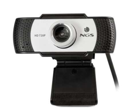 NGS WEBCAM HD 1280X720P, USB 2.0, MICROFONO INCORPORATO, MESSA A FUOCO MANUALE