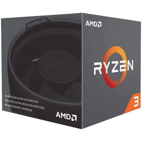 AMD CPU PINNACLE RIDGE RYZEN 3 1200 3,10GHZ AM4 10MB CACHE WRAITH STEALTH COOLER