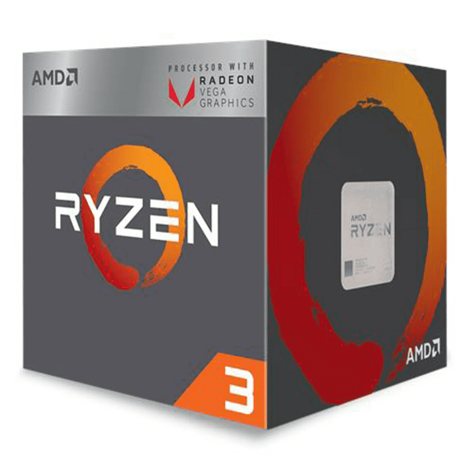 ADM CPU RYZEN 3 3,40GHZ AM4 10MB CACHE WRAITH STEALTH COOLER