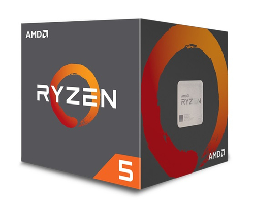AMD CPU PINNACLE RIDGE RYZEN 5 1600 3,20GHZ AM4 19MB CACHE 65W WRAITH SPIRE COOLER