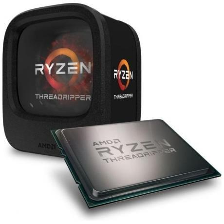 AMD CPU RYZEN THREADRIPPER 1950X 16CORE 3,4GHZ TR4 32MB CACHE 180W SENZA DISSIPATORE