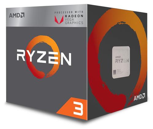 AMD CPU RAVEN RIDGE RYZEN 3 2200G 3,50GHZ AM4 6MB CACHE 65W RX VEGA GRAPHICS WRAITH STEALTH COOLER