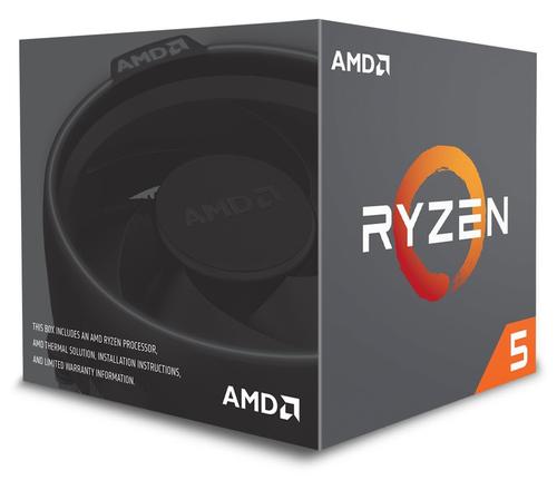 AMD CPU PINNACLE RIDGE RYZEN 5 2600 3,90GHZ AM4 19MB CACHE 65W WRAITH STEALTH COOLER