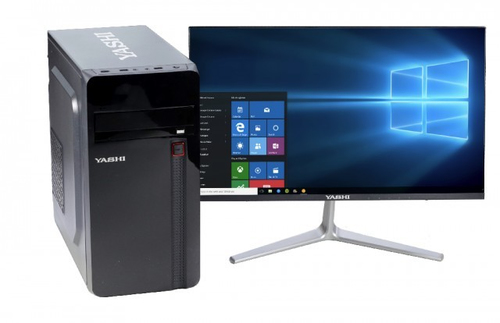 YASHI PC I5-9600 8GB 480GB SSD DVD-RW WIN 10 PRO