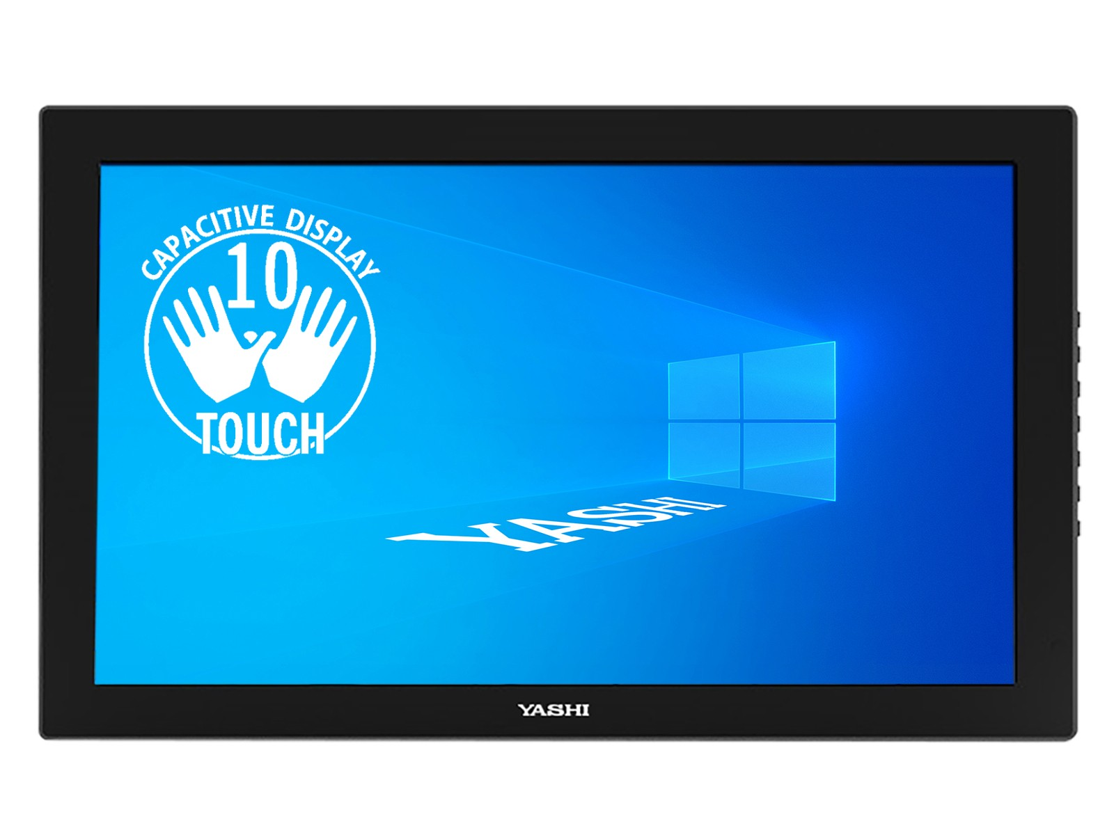 YASHI MONITOR TOUCH 23,6 LED IPS 16:9 FHD 1000:1 250 CD/M 60HZ HDMI MINI 10 TOCCHI CAPACITIVO SD CARD WEBCAM