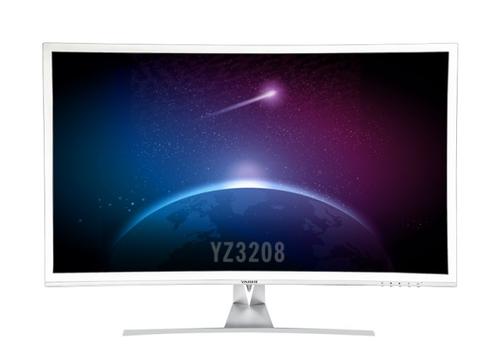 YASHI MONITOR 32 LED IPS CURVO 16:9 FHD 350 CD/M 2MS 60HZ VGA/HDMI, PIONEER SLIM