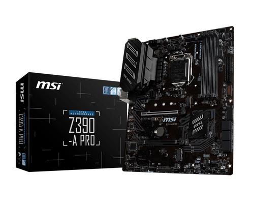 MSI MB Z390-A PRO ATX 1151 64GB DDR4 PRO SERIES