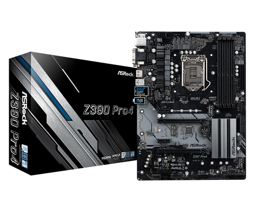 ASROCK MB Z390 PRO 4DDR4 2PCI-E X16 M2 HDMI