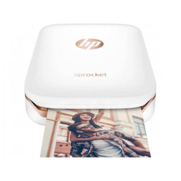 HP SPROCKET STAMPANTE FOTOGRAFICA ISTANTANEA PORTATILE 5 x 7.6 CM (BIANCO)