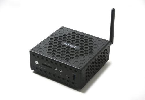 ZOTAC ZBOX MINI PC CI327 NANO N3450 QC DDR3L 1600MHZ SATA3 2XGLAN WIFI BT DP/HDMI/VGA