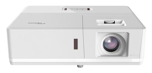 OPTOMA VIDEOPROIETTORE ZH506E-W LASER 5500 LUMEN CONTR 300.000:1 FHD IP5X HDMI VGA (BIANCO)
