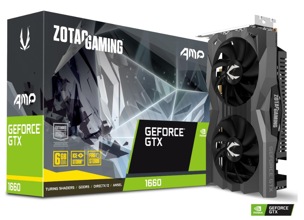 ZOTAC VGA GAMING GEFORCE GTX 1660 AMP EDITION