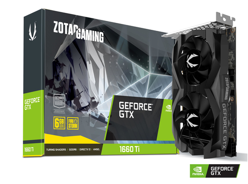 ZOTAC VGA GAMING GEFORCE GTX 1660 TI 6GB GDDR6 HDMI/DP