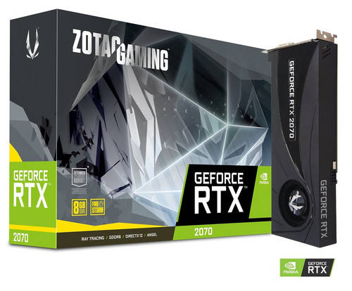 ZOTAC VGA GAMING GEFORCE RTX 2070 BLOWER 8GB GDDR6