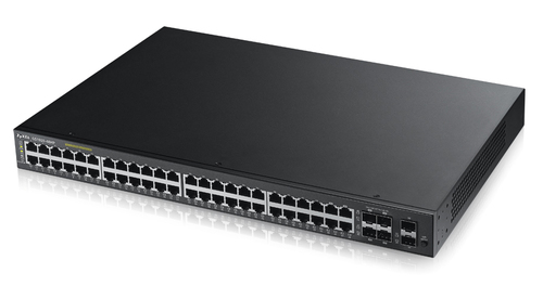 ZYXEL SWITCH MANAGED SMART 48 PORTE LAN GIGABIT  POE